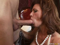 Deauxma is a hawt MILF who loves putting soaked dick in her throat