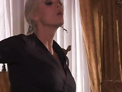 Slut gets massive jizz flow on face after unforgettable fucking