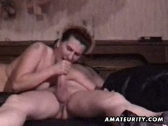 Amateur aged couple homemade video