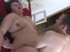 Chubby housewife fucked by the neighbour