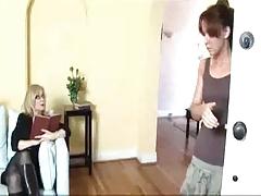 Mature Woman Seduces Shy Youthful Girl...F70