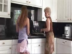 Hot Mature Blonde -Teen Lesbian Sex